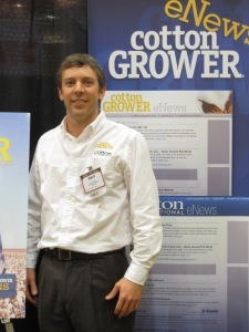 Beck Barnes, Editor of Cotton Grower Magazine